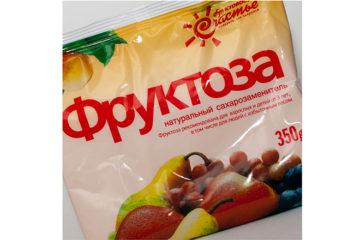 мягкая упаковка фруктозы 350 грамм